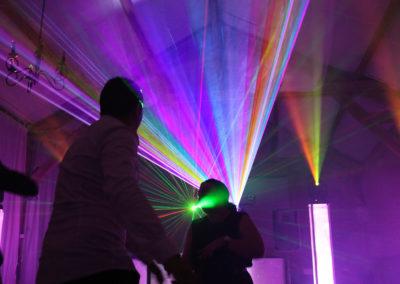 Le laser couleur